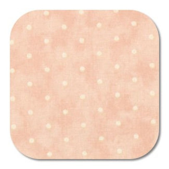 Moda 3 Sisters Favorites Pink with White Polka Dots 3775 12