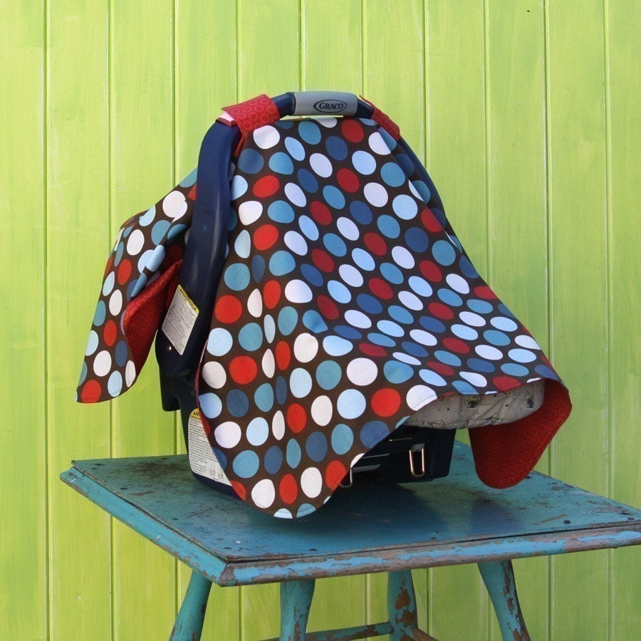 Custom Baby Car Seat Covers >> Car Seat Cover Up Canopy Tent PDF Pattern Tutorial