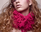 Lihuen Hot Pink Loops Cowl