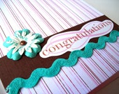 Congratulations and Sweet Baby Card Set OOAK