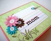 Spring Mom Card OOAK