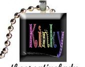 Kinky Hair Pendant
