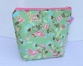 Insulated Lunch Bag Little - Zip Eco Friendly Flutter into Spring by BonTonsGifts on Etsy