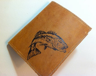 Leather Wallet - Billfold wallet - Handmade Wallet - Custom - Monogram - Personalize
