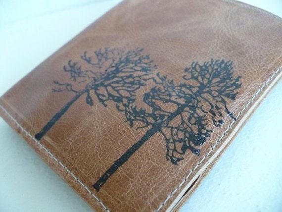 leather wallet billfold men card slots custom for you forest