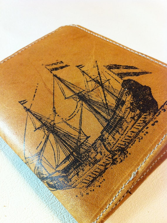 billfold wallet with card slots leather custom for you large ship