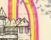 Double Rainbow Print - 5x7