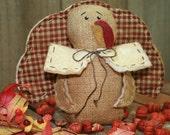 Primitive Pilgrim Turkey Shelf Sitter