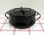 RESERVED for petalpie Black Dutch Oven ...vintage dansk stock pot