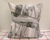 20 x 20 Wood Grain Pillow Cover by the Classic Farmhouse