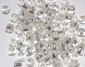 Clear Glass Rochelle Beads