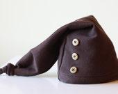 Chocolate-newborn baby toddler hat