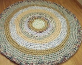 Beautiful Handmade Crochet Rag Rug