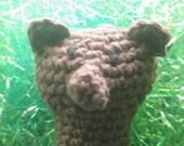 Finger Puppet, a bear named Fuzzy Wuzzy
