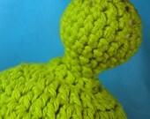 Andy's Alien, baby alien antenna hat/beanie 0-6 months