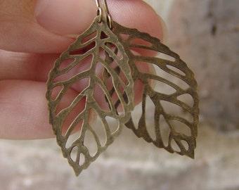 Leaf Earrings - Small