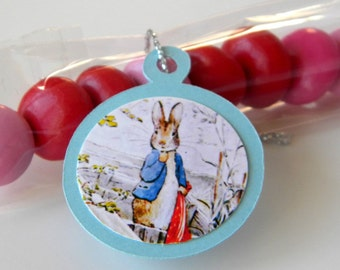 Peter Rabbit Favors, Birthday Candy Treat Bags, Set of 12, Assorted Bunnies