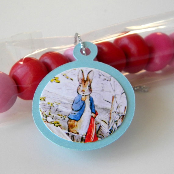 Items Similar To Peter Rabbit Favors, Birthday Candy Treat