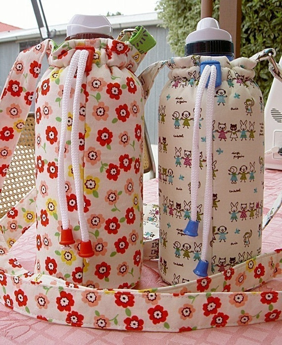 How to Make a Water Bottle Carrier PDF - Digital File DIRECT DOWNLOAD