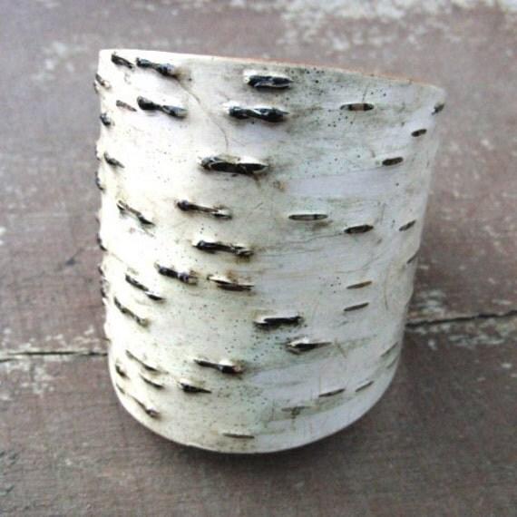 Birch bark cuff, Merge