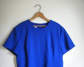 SALE The Miss Moneypenny shift - royal blue