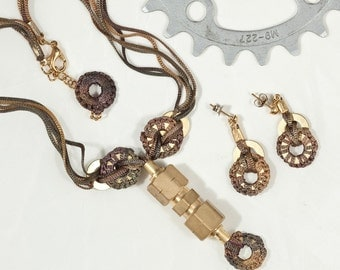 Fusion union Necklace and Earring set from the Hardwear Collection S109