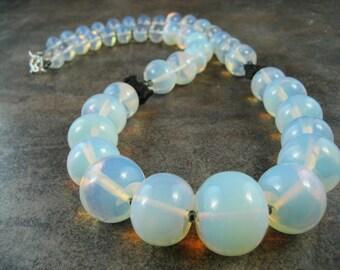 Sea Opal Opalite OOAK Scottie Necklace - 112s