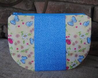 Zipper Purse-Butterflies