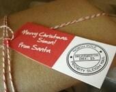 """PRINTABLE """"From Santa"""" Gift Tags"""