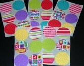 Envelope Seal Stickers LOVE BUG Set of 30
