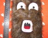 Happy Brown Address Book Monster