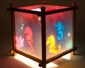 Paper Lanterns, Decorative Lantern, Small Lamp, kids Night Light, Marine Animals, Christmas Presents for Kids