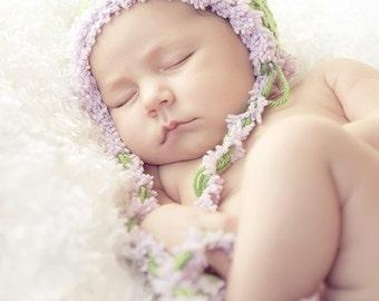 Baby Hat, Newborn Baby Hat, Baby Photo Prop, Baby Beanie Hat, Photo Prop Newborn Hat