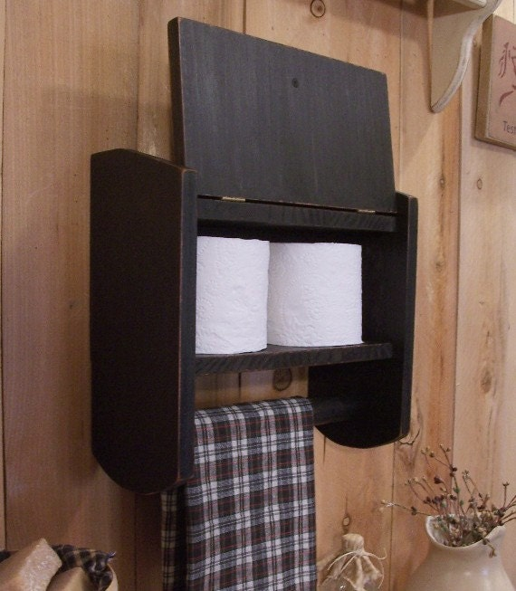 primitive cabinet towel rack spice cabinet for kitchen toilet paper storage for bathroom original design color choice