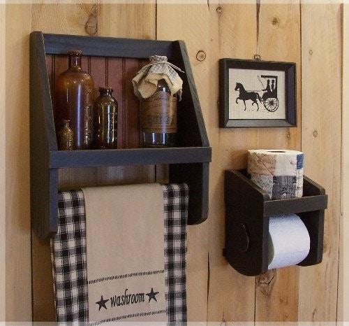 Excellent Reclaimed Barn Wood Bathroom Shelves