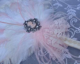 Marie Antoinette exquisite bridal fan bouquet