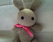 Amigurumi Grey Bunny