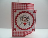 Little Kitty Valentines Day Card