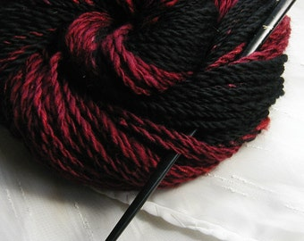 Event Horizon handspun two-ply yarn