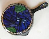 Mosaic Dragonfly Fry Pan