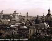 Roman Skyline, Rome, Italy - Fine Art Photograph - lunagraphx