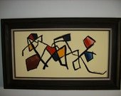 Original Painting 15x30 Acrylic on Canvas Brandon Adamson