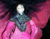 Pretty in Pink Lily Fairy - Reserved for Brightflame