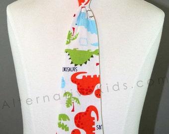 Children's Dinosaur Necktie