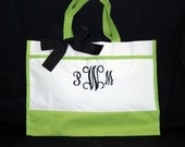 Custom list for 5 with bows - Personalized Bags