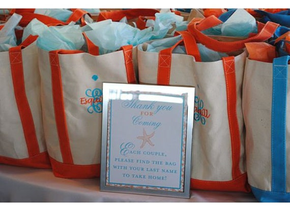 Custom list for 6 - Personalized Tote Bag - Large Boat