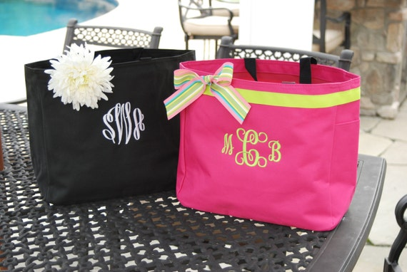 Custom list for 4 with trim - Personalized Bag - Resort