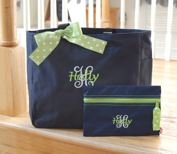 Custom list for 4 with bows - Personalized Tote Bag - Resort