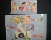 Die Cut Stickers Tim Holtz Die Cut (Sewing Room) Floral Multiple Colors, Scrapbooking, Card Making, Diecuts