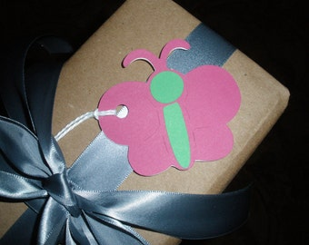 Beautiful Butterfly Gift Tags ( Set of 6 )